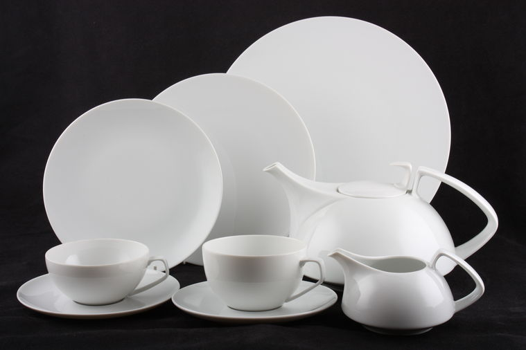 rosenthal tac gropius white plates serving items tea