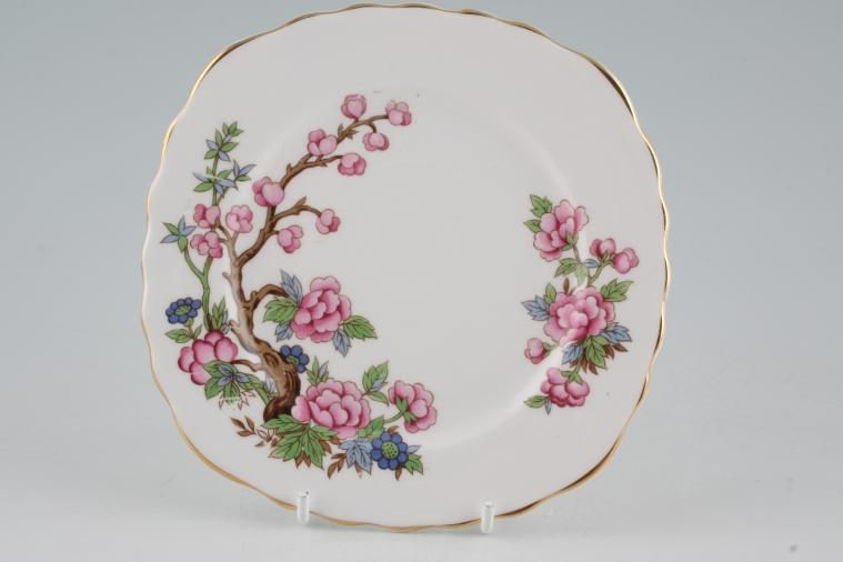 Colclough - Indian Tree - Tea / Side / Bread & Butter Plate - square
