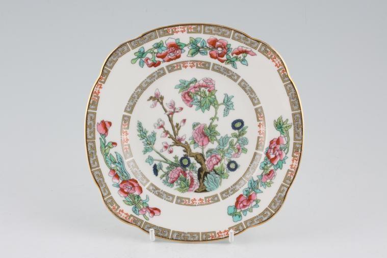 Duchess - Indian Tree - Tea / Side / Bread & Butter Plate - squarish edge