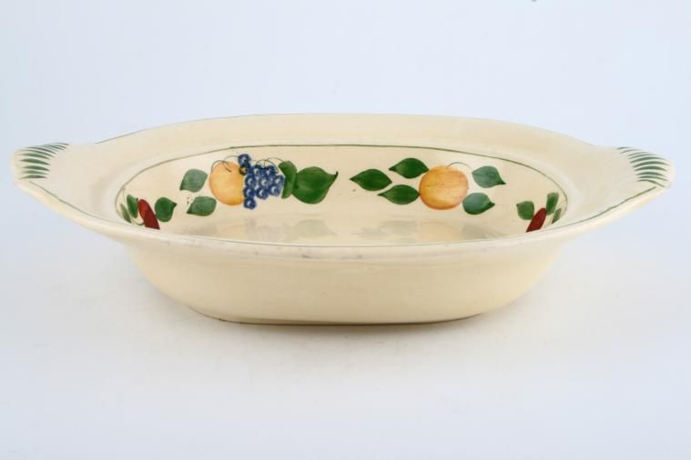 Adams - Fruit I (Titian Ware) - Vegetable Tureen Base Only