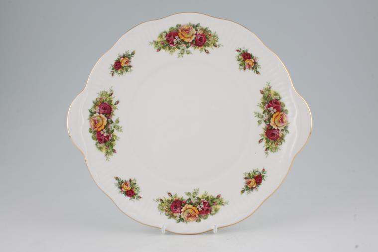 Elizabethan - Rose Garden - Cake Plate