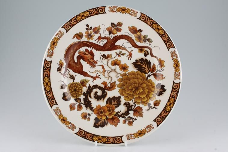 Franciscan - Dragon of Kowloon - Dinner Plate