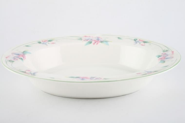Aynsley - Little Sweetheart - Vegetable Dish (Open) - oval