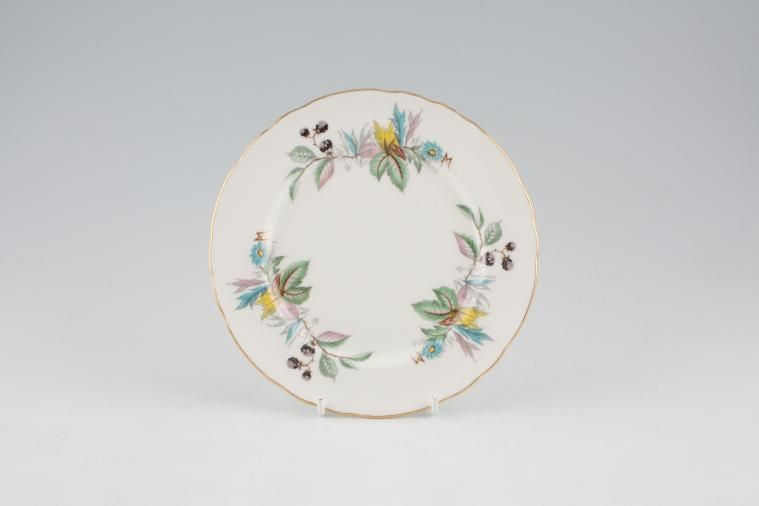 Aynsley - Berry Lane - Tea / Side / Bread & Butter Plate - Fluted Rim