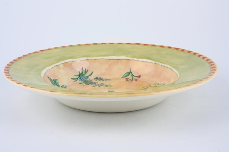 BHS - Garden Herbs - Rimmed Bowl