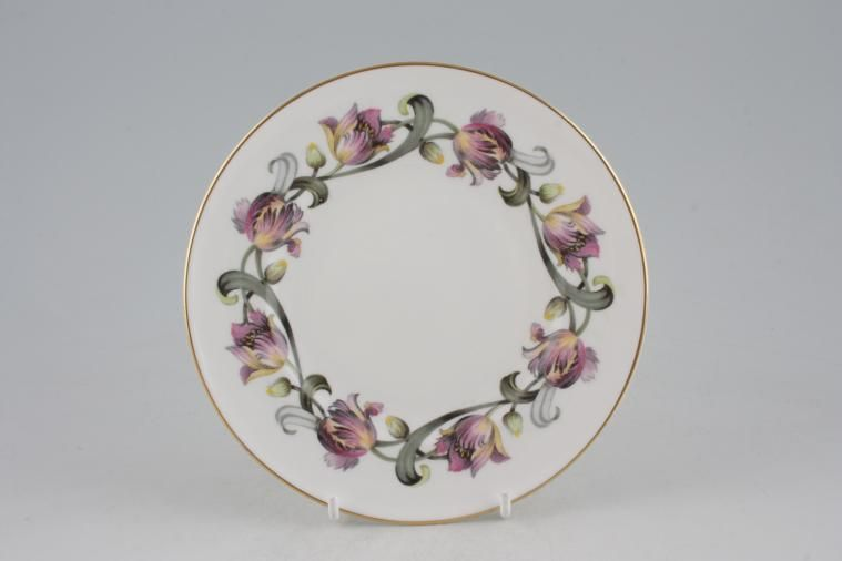 Royal Worcester - Tulip - Tea / Side / Bread & Butter Plate