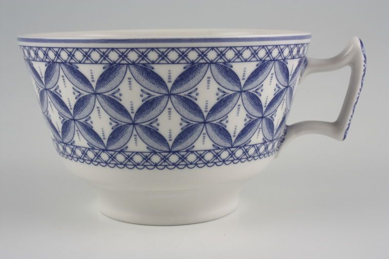 Spode - Geranium - Blue - Breakfast Cup