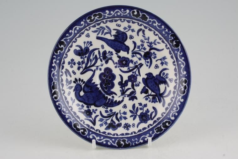 Burleigh - Blue Bird - Tea Saucer