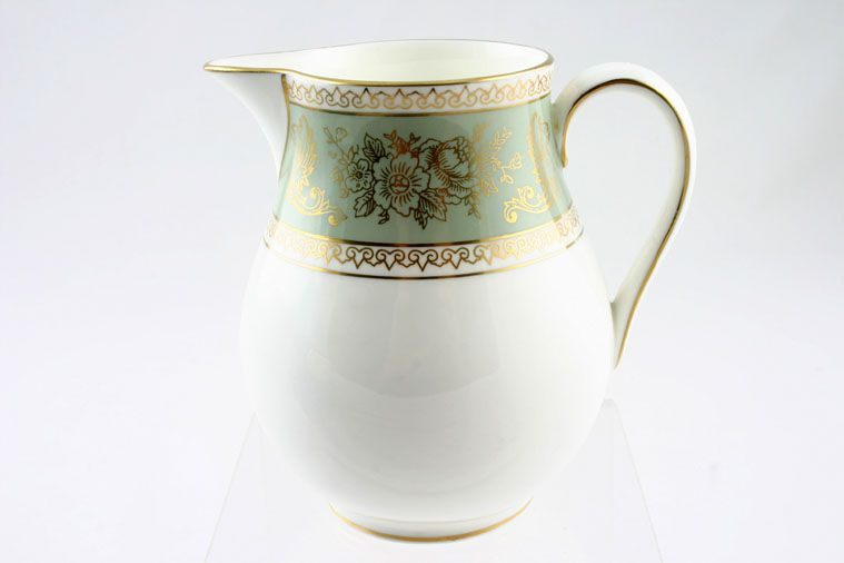 Wedgwood - Columbia - Sage Green - Milk Jug - Tall