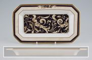 "Wedgwood - Cornucopia - Tray (Giftware) - 8 1/4 x 4 7/8"" - Bloomsbury Dressing Table Tray"