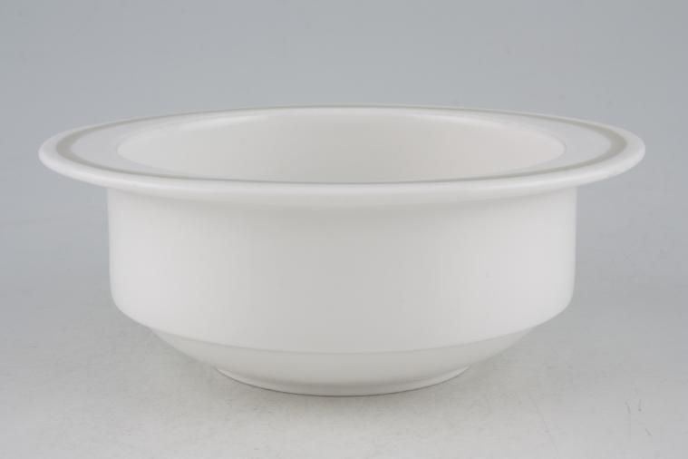 Wedgwood - Sunflower C2002 - Susie Cooper - Oatmeal / Cereal / Soup - Eared - Wedgwood Group backstamp