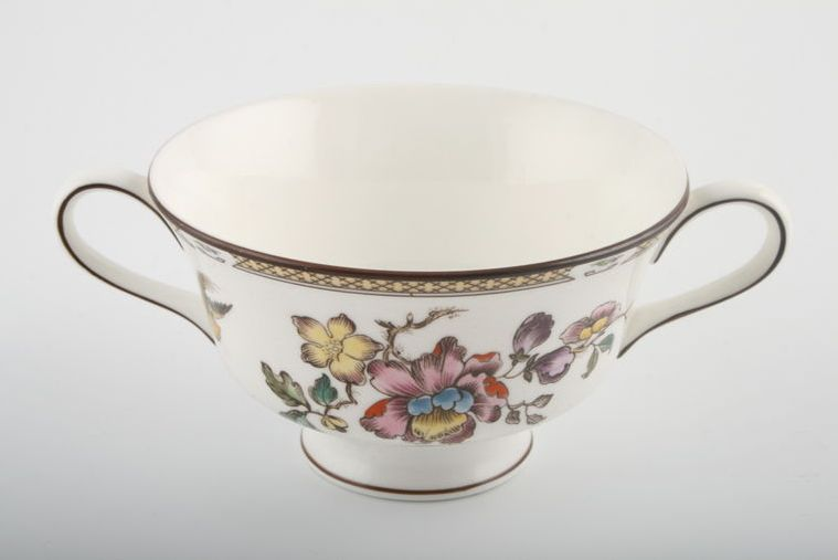Wedgwood - Swallow - Soup Cup - 2 handles