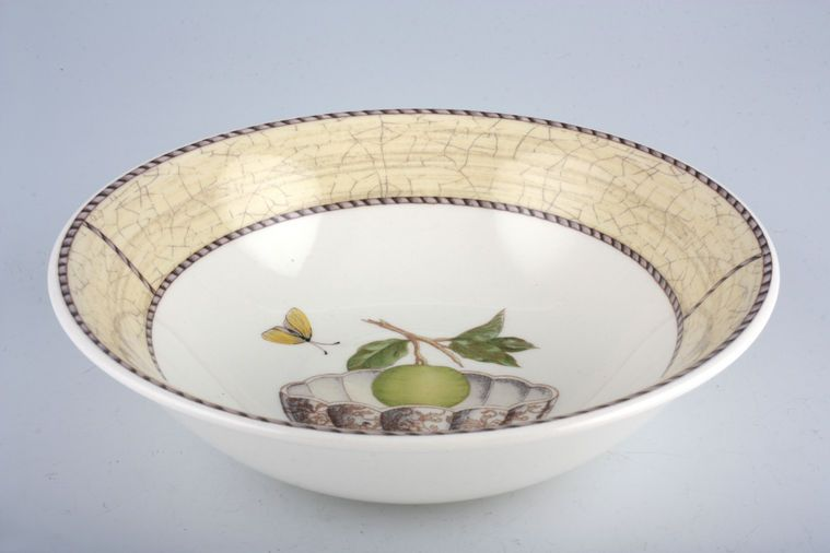 Wedgwood - Sarah's Garden - Cream and Terracota - Oatmeal / Cereal / Soup - Cream